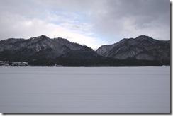 田園の雪景色