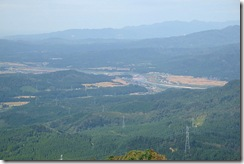 立烏帽子山頂からの風景