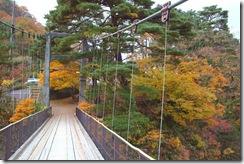 鷹の巣吊橋紅葉状況