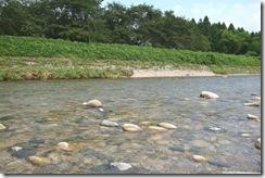 清流荒川の支流女川の水の綺麗な事!!