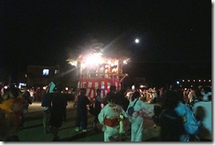 大盆踊り大会の模様
