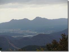 大里峠展望台からの風景